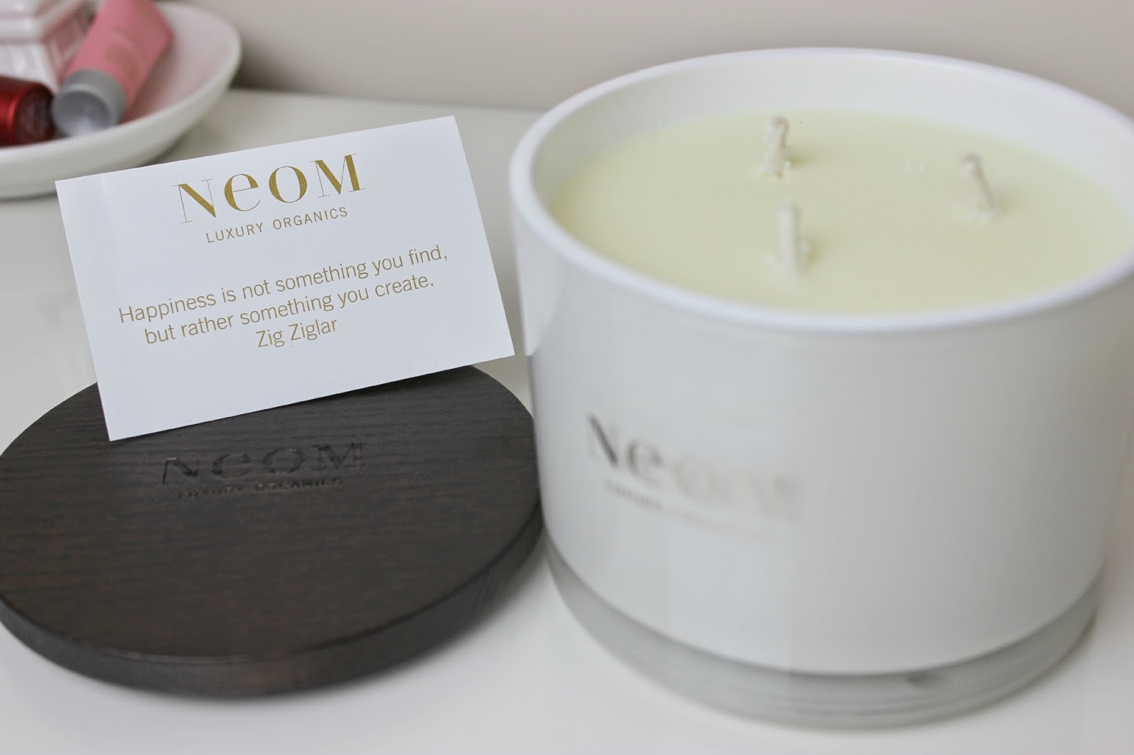 A picture of NEOM Enchantment Home Candle