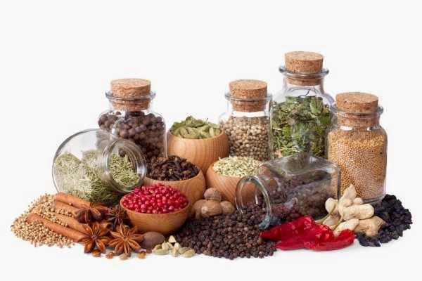 zdrava hrana zacini