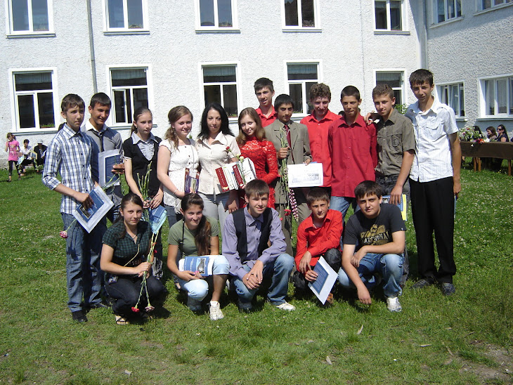 Premianții clasei a IX-a A 2011