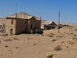 Ghost town of Kolmanskop