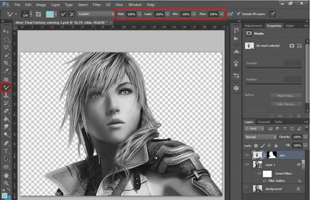 Tutorial Teknik Coloring Photoshop By Dhee Riku