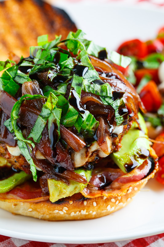 ... Turkey Burgers with Balsamic Caramelized Onions on Closet Cooking