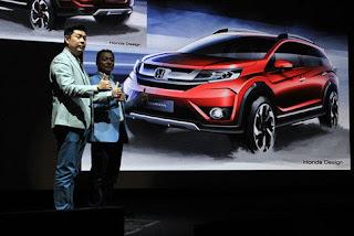 Keren Kang Broe ...Honda BR-V Sudah Bisa Dipesan di GIIAS 2015!