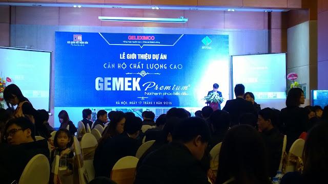 Căn hộ cao cấp Gemek Premium