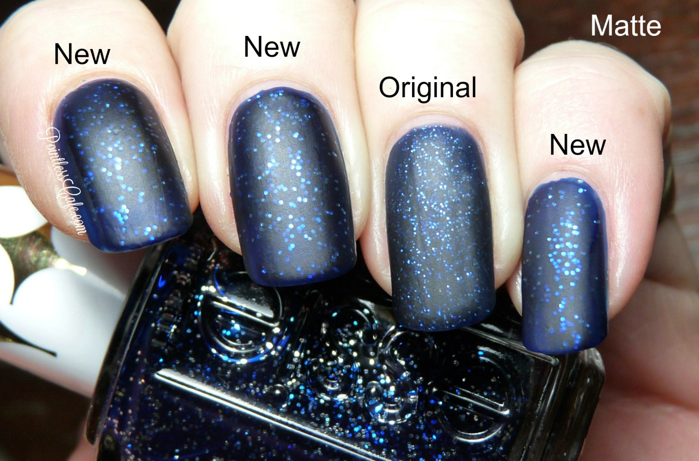 Essie Starry Starry Night - New Version Vs Original: Comparison ...