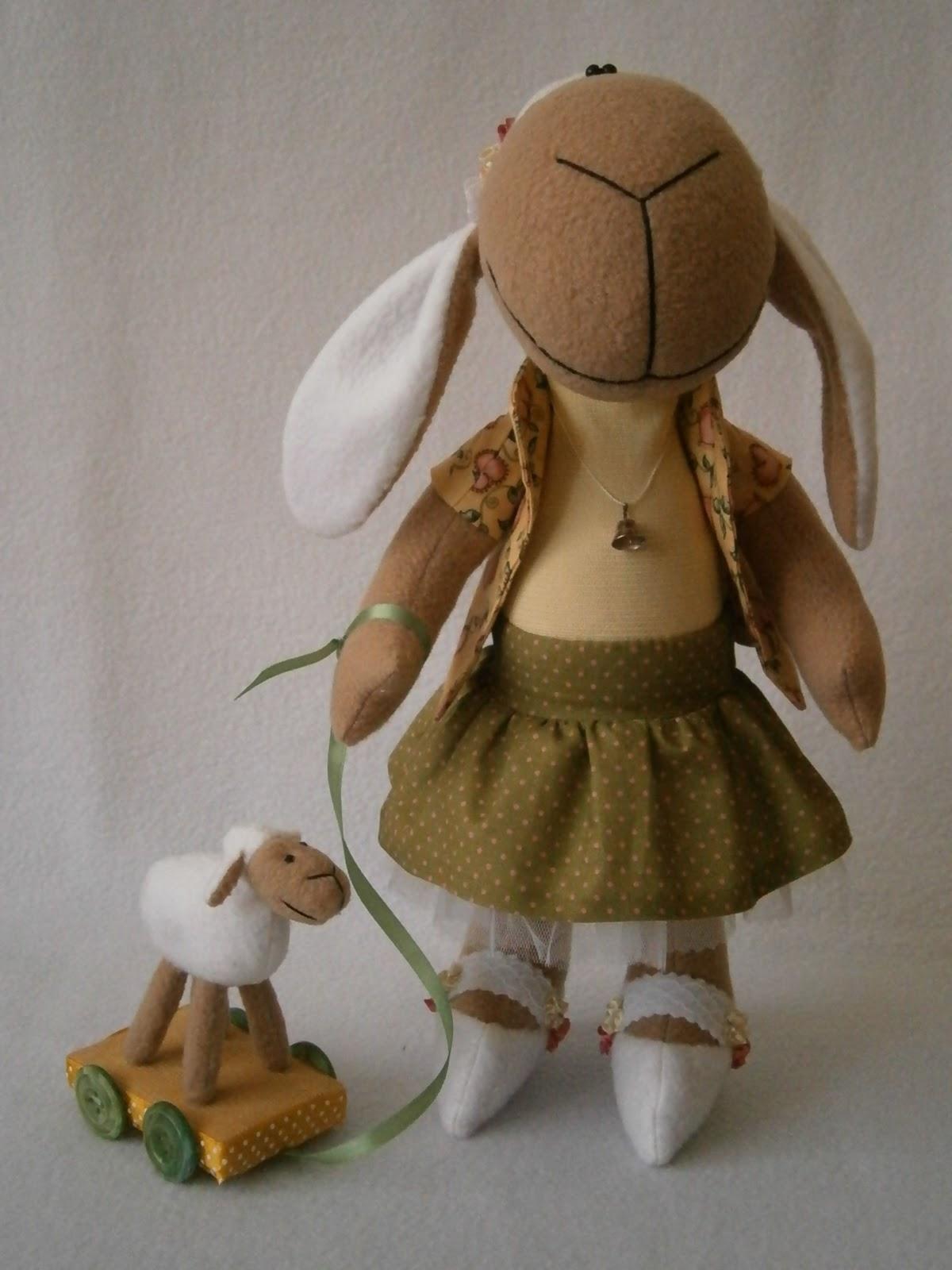 Как сшить овечку-тильду 84