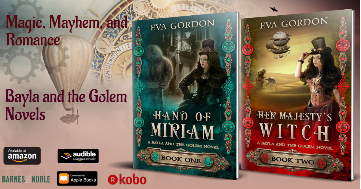 Bayla and the Golem Novels