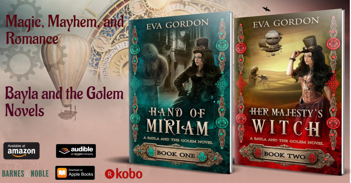 Bayla and the Golem Novels