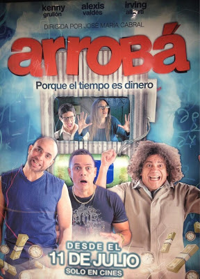 Arrobá nueva película con Alexis Valdéz.