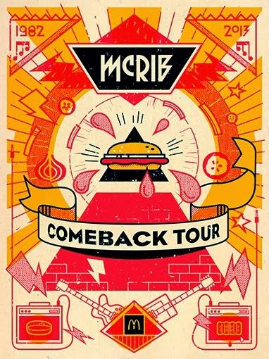The McRib Comeback Tour