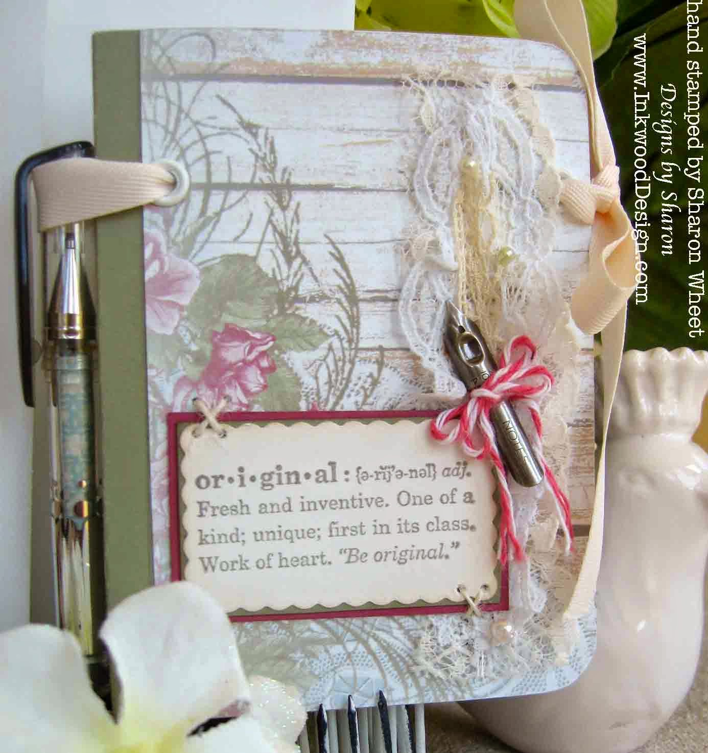 Designs By Sharon Sweet Rose Book