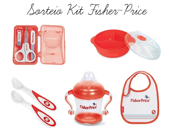 Sorteio Kit Fisher-Price
