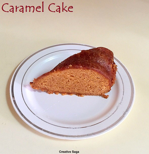 caramel cake how to make