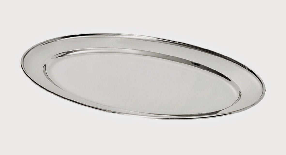 Tava Servire Carne, Platou oval, otel inoxidabil, diferite dimensiuni, pret tavi