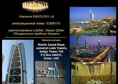 Компания EMGoldex. Введение