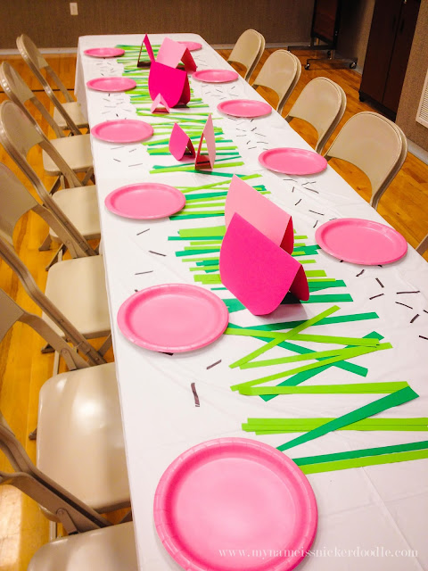 A super fun theme for a LDS Relief Society dinner or enrichment night!  You're One In A Melon theme is perfect for summer.     mynameissnickerdoodle.com