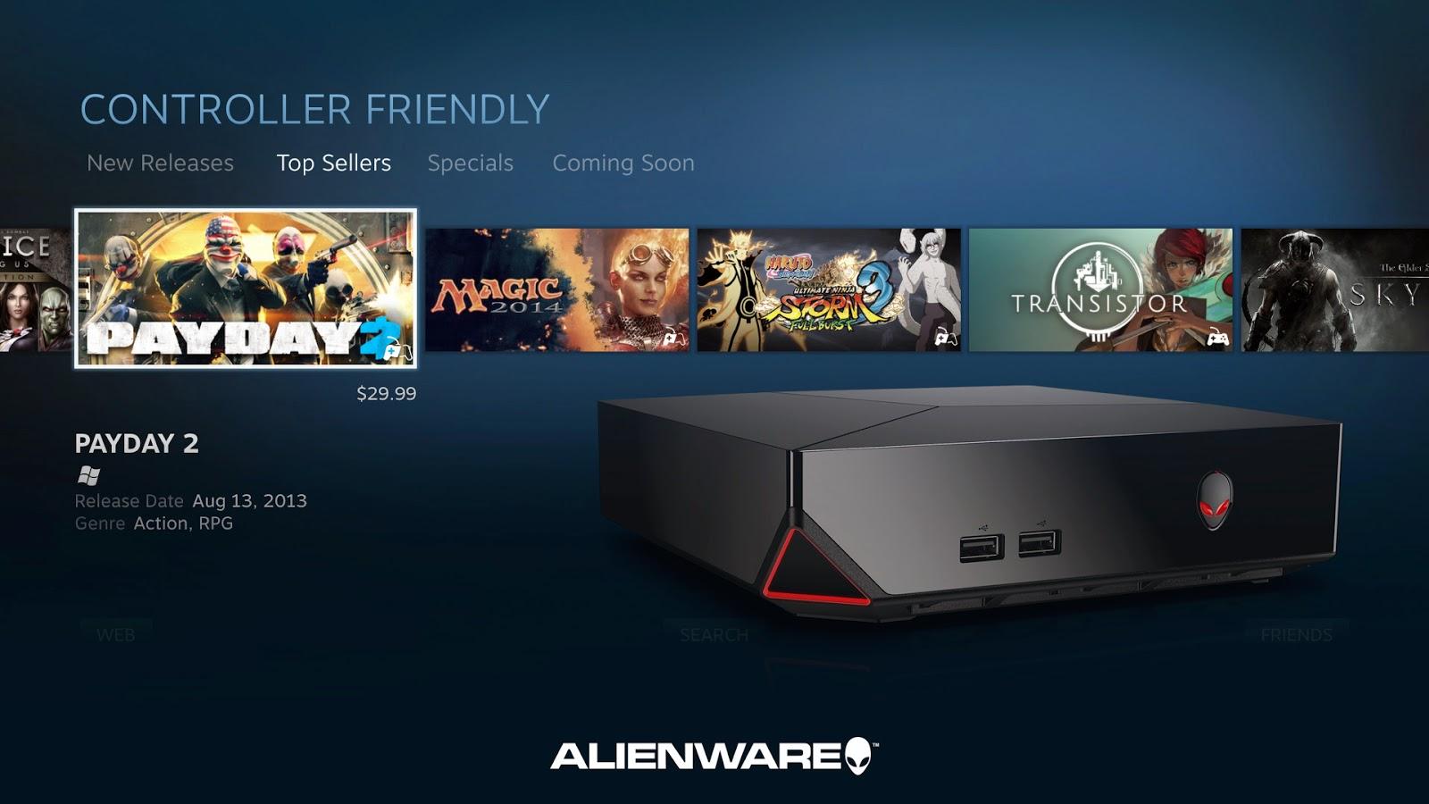alienware alpha console hackersfall. Black Bedroom Furniture Sets. Home Design Ideas