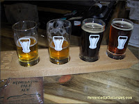 Pateros Creek taster flight