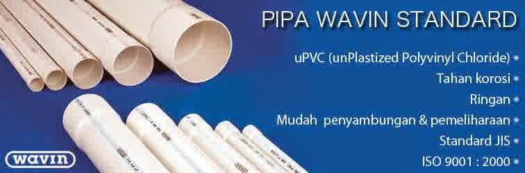 Daftar Harga PIPA PVC WAVIN STANDAR panjang 4 meter Perbatang