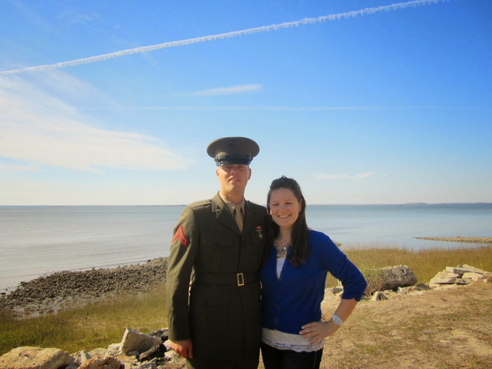 Me and My Marine!