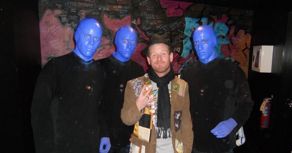 blog rock stars comedians enjoy blue man group show