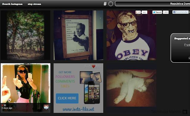 Ver imagenes de Instagram es nuestra computadora con seach instagram