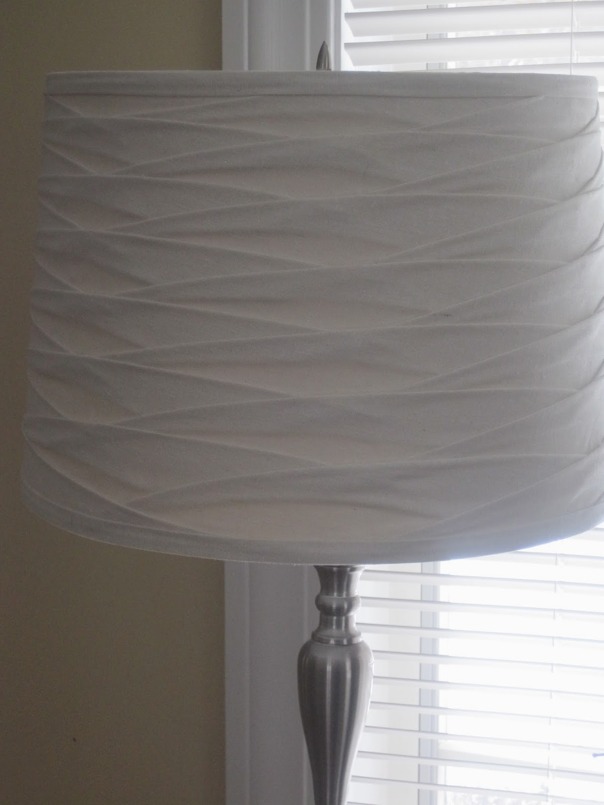 Spring Lamp Shade Update