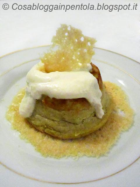 sformato sformatini di carciofi antipasto ricetta cosa blogga in pentolacosabloggainpentola