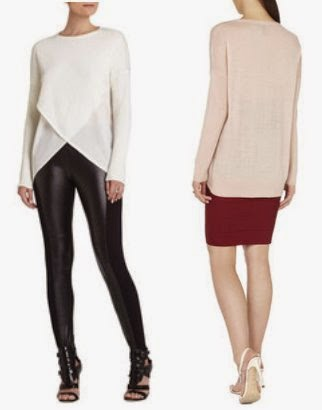 Asymmetrical BCBG Max Azria sweater