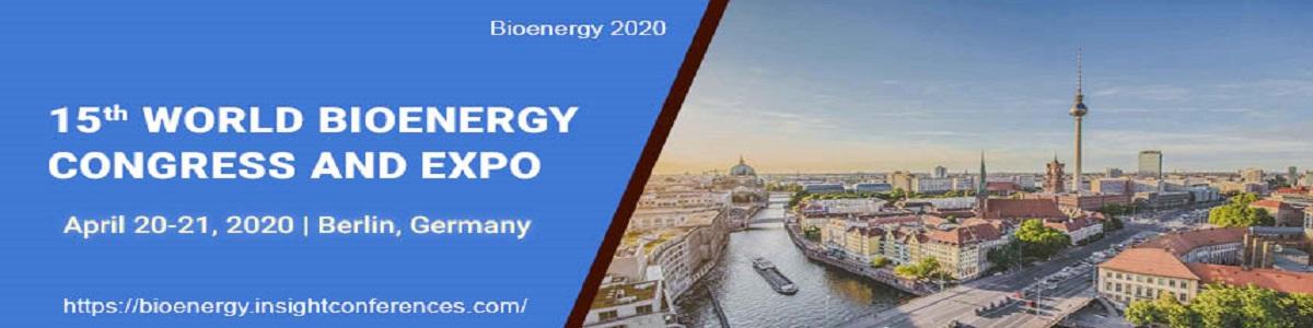 15<sup>th</sup> World Bioenergy Congress and Expo