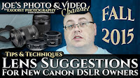 Lens Suggestions For New Canon Rebel DSLR Owners, Fall 2015 | Photography Tips & Techniques