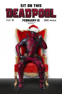 Deadpool Movie Christmas Poster