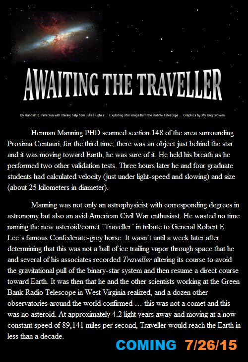 AWAITING THE TRAVELLER