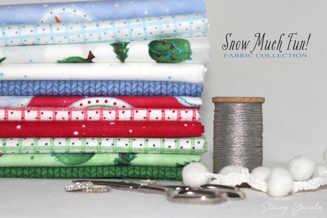 Snowmen Fabric