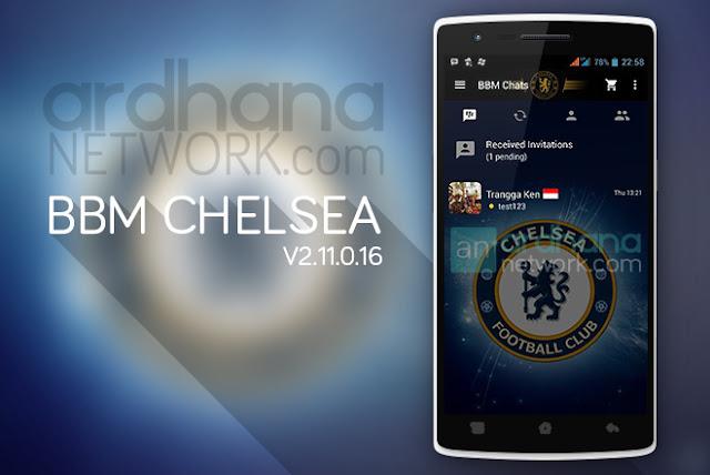 BBM Chelsea - BBM Android V2.11.0.16