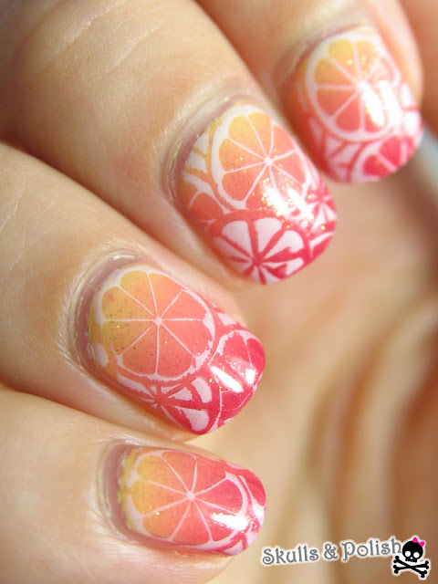 sinful_colors_kiko_catrice_parrot_polish_nailart_stamping_gradient
