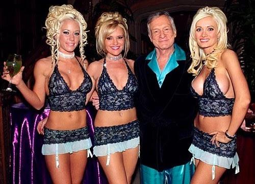 Hugh Hefner, Girld of the Playboy Mansion, Girlfriends, Playboy