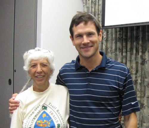 Joan Young and Andrew Skurka