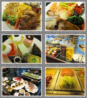 International BBQ buffet dinner at Halia, Sime Darby Convention Center, Bukit Kiara, KL