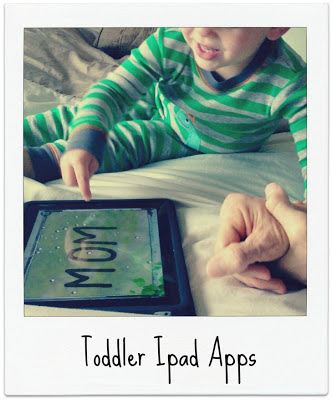 Favorite Toddler iPad apps