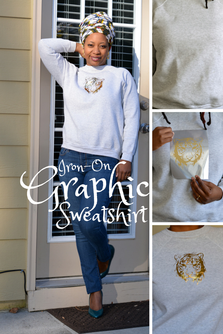 diy graphic sweatshirt