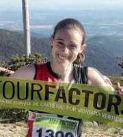 Virginia Pérez Mesonero, Campeona de la Copa de España de Carreras por montaña verticales 2016
