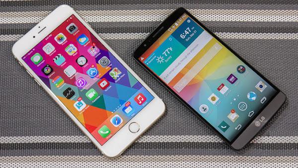 Apple iPhone 6 Plus vs. LG G3