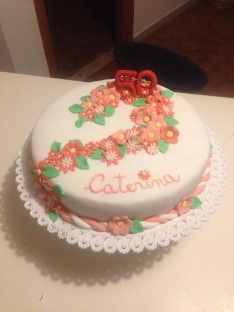 torta compleanno 50 anni caterina!