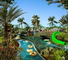 Tempat Wisata di Bogor yang Murah The Jungle Water Park
