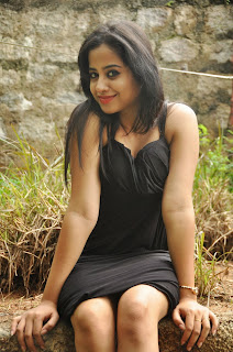 Swathi Deekshith Latest Picture Gallery in Black Short Dress ~ Celebs Next