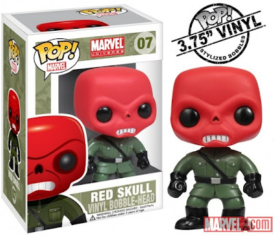 Red Skull Funko Marvel Bobble-Head
