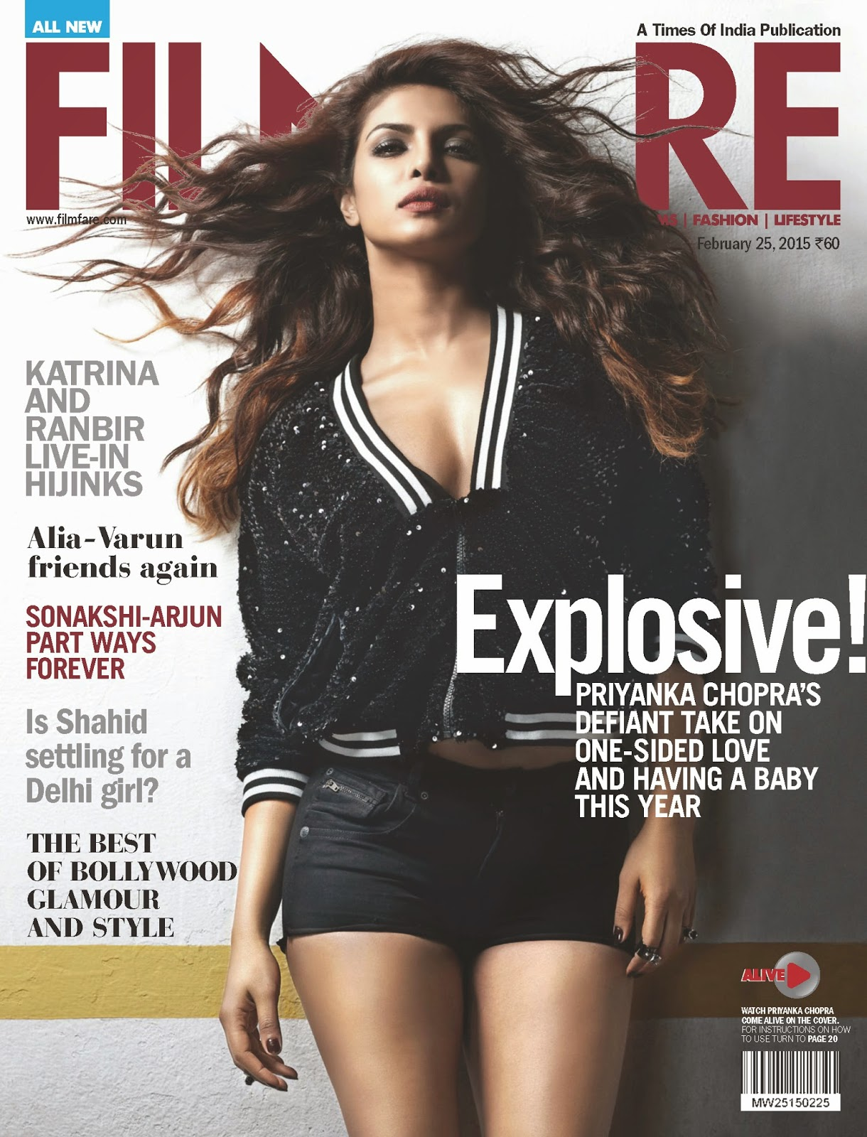 Actress, Singer: Priyanka Chopra for Filmfare