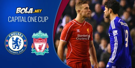 Capital One : Prediksi Pertandingan Chelsea vs Liverpool