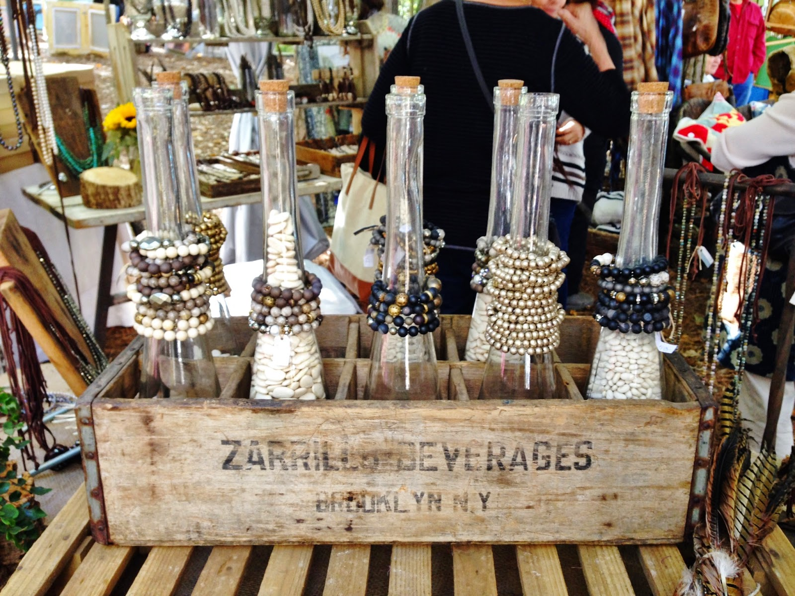 Craft Fair Necklace Display